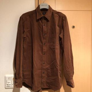 ユニクロ(UNIQLO)のユニクロ*美品 コーデュロイシャツ*メンズS(シャツ)