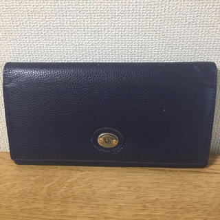 クリスチャンディオール(Christian Dior)の【鑑定済】正規Dior Wホック長財布(財布)