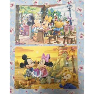 ディズニー(Disney)のディズニー ダッフィー ポストカード 2枚(キャラクターグッズ)