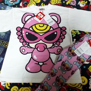 ヒステリックミニ(HYSTERIC MINI)の【新品】テディセット120cm (Tシャツ/カットソー)