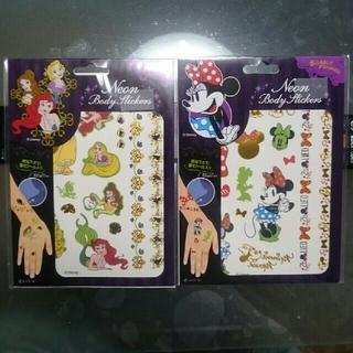 ディズニー(Disney)の【新品】ボディペイント タトゥーシール ディズニー プリンセス(その他)