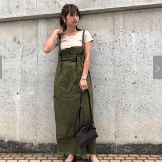 カスタネ(Kastane)の新品カスタネ☆リメイク風ハイウエストワンピース(ロングワンピース/マキシワンピース)
