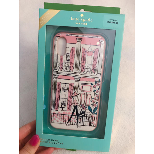 kate spade new york - 新品 正規品 ケイトスペード  iPhoneXRケースの通販 by HKDLluv|ケイトスペードニューヨークならラクマ