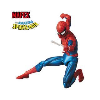 メディコムトイ(MEDICOM TOY)のMAFEX SPIDER-MAN (COMIC Ver.) アクションフィギュア(アメコミ)