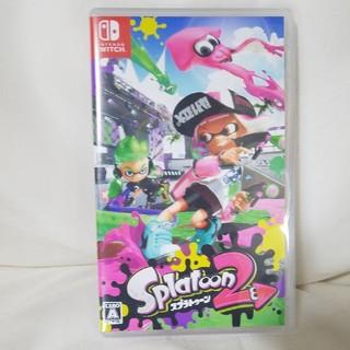 ニンテンドースイッチ(Nintendo Switch)の任天堂Switch☆スプラトゥーン2(携帯用ゲームソフト)
