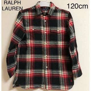 ラルフローレン(Ralph Lauren)のラルフローレン チェック シャツ 120cm(ブラウス)