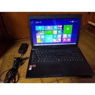 エイスース(ASUS)のASUS ノートパソコン Windows10 エクセル、ワード、DVDマルチ☆(ノートPC)