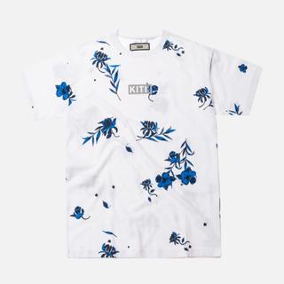 シュプリーム(Supreme)のKITH FLORAL CLASSIC LOGO TEE BLUE WHITE(Tシャツ/カットソー(半袖/袖なし))