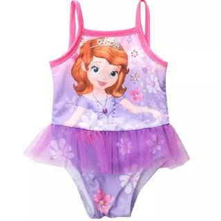 ディズニー(Disney)の1点のみ♡ソフィア フリル付き水着♡80cm(水着)