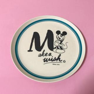 ディズニー(Disney)のミッキー*バンブープレート 丸型 M(食器)