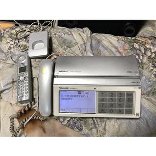 パナソニック(Panasonic)のパナソニック・普通紙FAX!モデル・KX-PW821-S!(その他 )