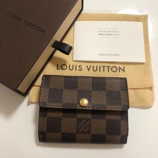 LOUIS VUITTON - 極美品 ルイヴィトン ダミエ コインケース ミニ財布