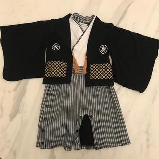 袴ロンパース 80(和服/着物)