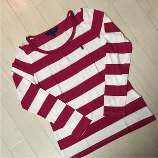 ラルフローレン(Ralph Lauren)のラルフローレン ボーダー長袖Tシャツ150(Tシャツ/カットソー)