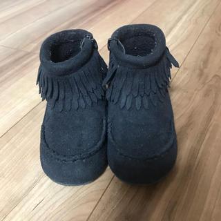 プティマイン(petit main)のpetitmain ブーツ 14cm(ブーツ)