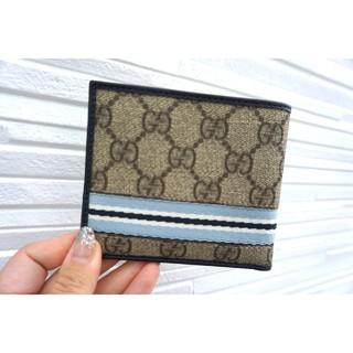 グッチ(Gucci)のGUCCI グッチ GGキャンバス 二つ折り財布 2つ折り財布(折り財布)