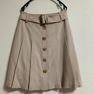 ストロベリーフィールズ(STRAWBERRY-FIELDS)のストロベリーフィールズ プリーツスカート(ひざ丈スカート)
