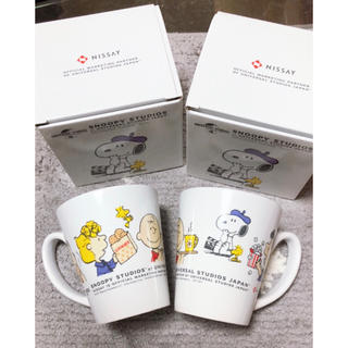 スヌーピー(SNOOPY)のスヌーピー マグカップ(グラス/カップ)