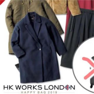 シマムラ(しまむら)の完売◎ HK WORKS LONDON しまむら コート フェリシモ(ロングコート)