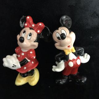 ディズニー(Disney)のミキミニ♡陶器フィギュア(キャラクターグッズ)