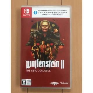 ニンテンドースイッチ(Nintendo Switch)のウルフェンシュタイン2  Switch Wolfenstein Ⅱ(家庭用ゲームソフト)