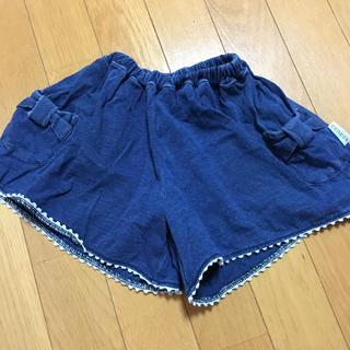 シマムラ(しまむら)のconoco デニム ショートパンツ キュロット 80(パンツ)