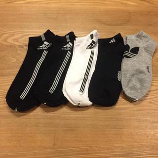 adidas - adidas メンズ靴下 5足組