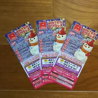 【2枚】2018ー2019 高鷲 スノーパーク &ダイナランド共通 リフト券  (スキー場)