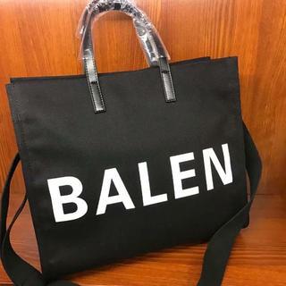 Balenciaga - バレンシアガ レディース ブラック キャンバストートバッグ