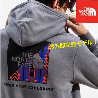 ザノースフェイス(THE NORTH FACE)のTHE NORTH FACE ボックスロゴ パーカー RAGE BOX LOGO(パーカー)