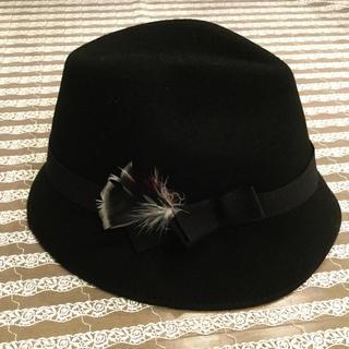 アンタイトル(UNTITLED)のアンタイトル★フェルト帽子 ハット美品(ハット)