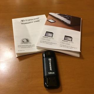 トランセンド(Transcend)のUSBメモリ 128GB  Transcend Phone・iPad (PC周辺機器)