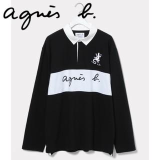アニエスベー(agnes b.)のagnes b. pour × ADAM ET ROPE ラグビーシャツ(スウェット)