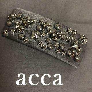アッカ(acca)のacca  NEBULA バレッタ(ブラック)(バレッタ/ヘアクリップ)