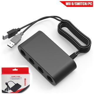 ニンテンドースイッチ(Nintendo Switch)のニンテンドースイッチ ゲームキューブ コントローラ接続タップ スマブラv(家庭用ゲーム本体)