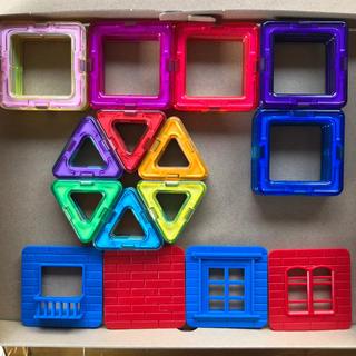 お試しセット24p 磁石ブロック 積み木 立体パズル