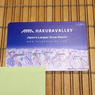 栂池高原スキー場 リフト1日券 白馬(ウィンタースポーツ)