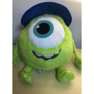 ディズニー(Disney)のモンスターズ・インク マイク・ワゾウスキの大きいぬいぐるみ(キャラクターグッズ)