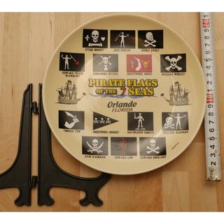 ディズニー(Disney)の海賊 飾り皿 PIRATE FLAGS OF THE 7 SEAS(置物)