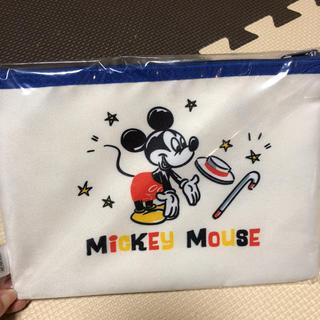 ディズニー(Disney)のミッキー クリアポーチ 新品(ポーチ)