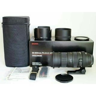 シグマ(SIGMA)の【訳あり】SIGMA 50-500mm HSM (カビあり)ソニー用 望遠レンズ(レンズ(ズーム))
