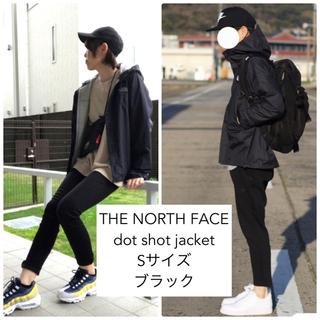 ザノースフェイス(THE NORTH FACE)のノースフェイス ドットショットジャケット メンズ Sサイズ ブラック(マウンテンパーカー)