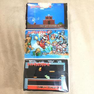 スーパーファミコン - スーパーマリオブラザーズ ポケットティッシュ 任天堂ファミコン レア 新品マリオ