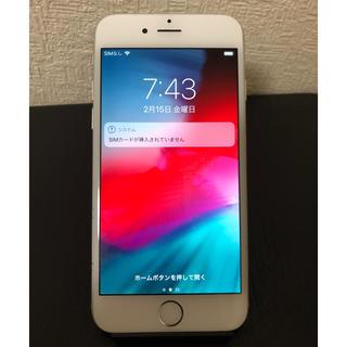 iPhone - 【値下げ中】動作品 iPhone 6  Silver 64 GB docomo
