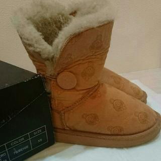 ヒステリックミニ(HYSTERIC MINI)のムートンブーツ XS 15~16cm(ブーツ)