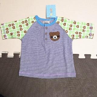 キムラタン(キムラタン)の【新品】Piccolo Tシャツ カットソー 七分袖 70 キムラタン(Tシャツ)