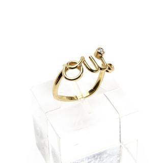 ディオール(Dior)のディオール OUI リング ウィリング ダイヤ K18 YG 49 Dior  (リング(指輪))