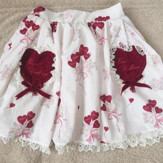 LIZ LISA - LIZLISA  ハートバルーン柄スカート