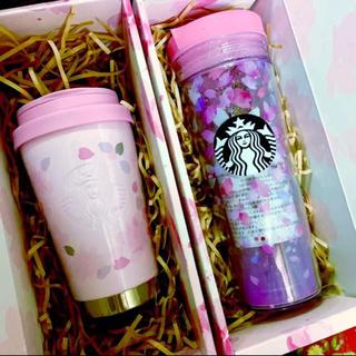 スターバックスコーヒー(Starbucks Coffee)の2セット 2019 スタバ さくら タンブラー(タンブラー)