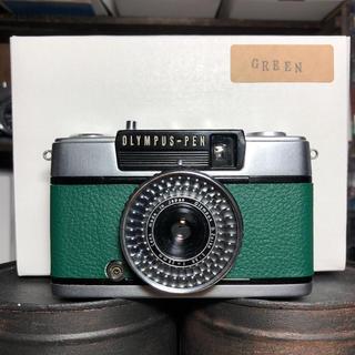オリンパス(OLYMPUS)のOLYMPAS PEN EE-3【GREEN】(フィルムカメラ)